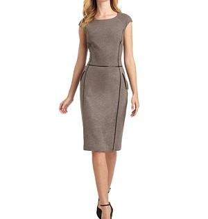 женское летнее платье для офиса