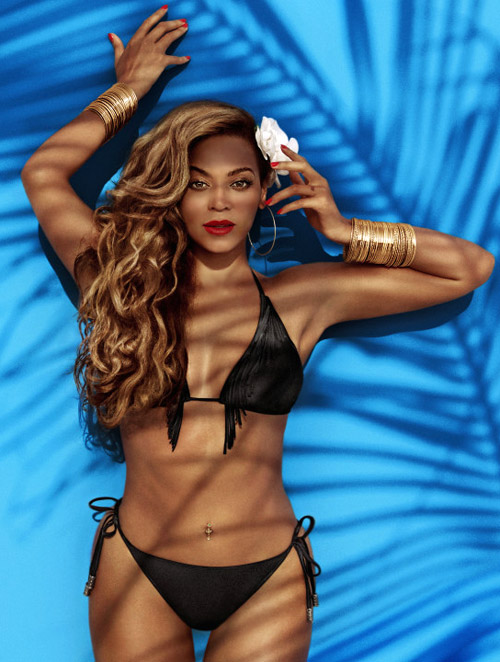 купальники 2013 H&M Beyonce