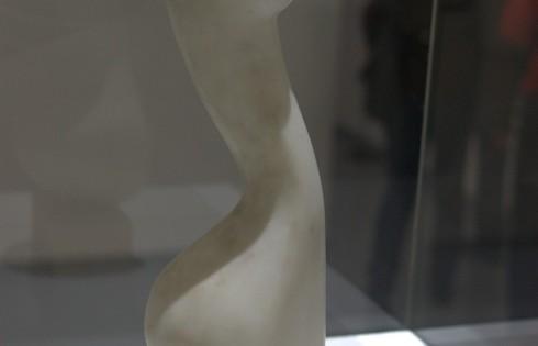 Зрелая женщина, 1971 год, белый мрамор