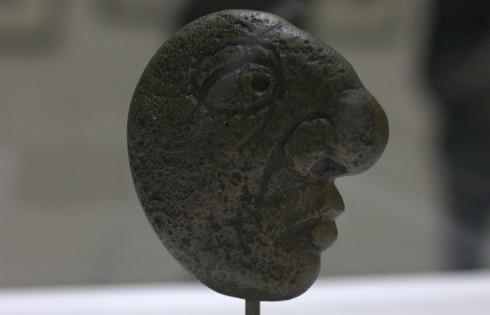Голова Пикассо 1947 год, Патинированная бронза