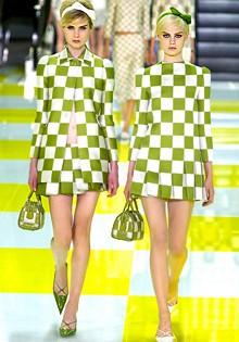 клетчатый принт от Louis Vuitton