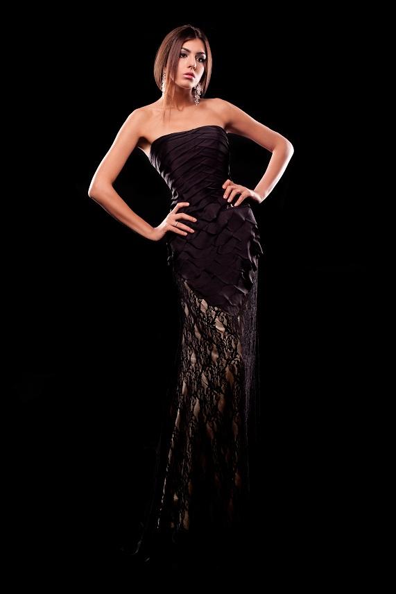 платье на выпускной готический стиль