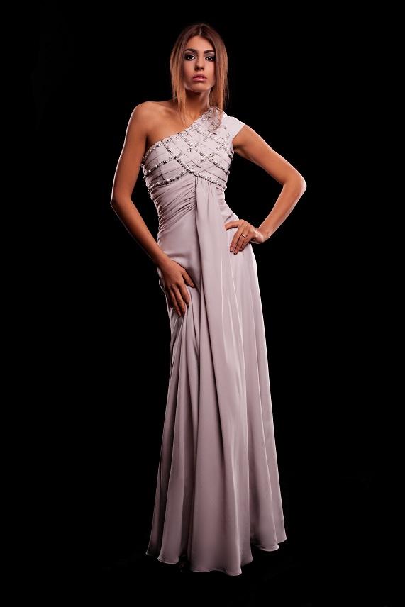 греческий стиль платья на выпускной бал