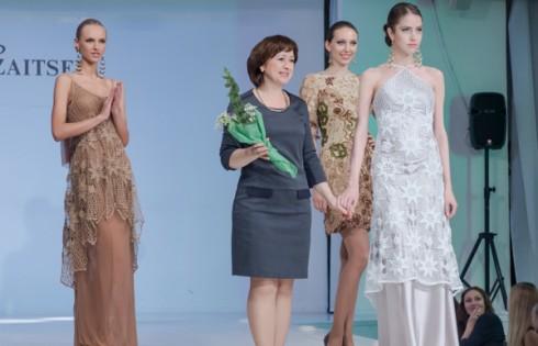 модный показ российских модельеров в Доме Моды Вячеслава Зайцева