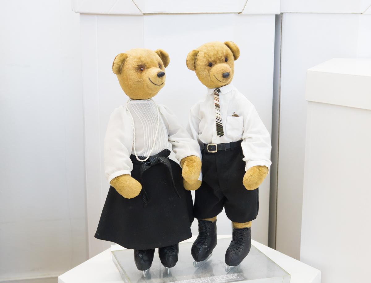 авторские куклы медведи