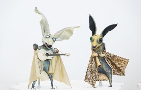 летучии мыши - авторские куклы