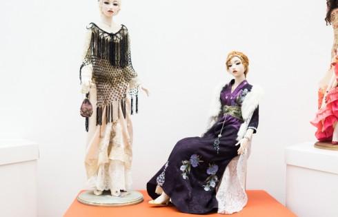 авторские куклы ручной работы в стиле ретро