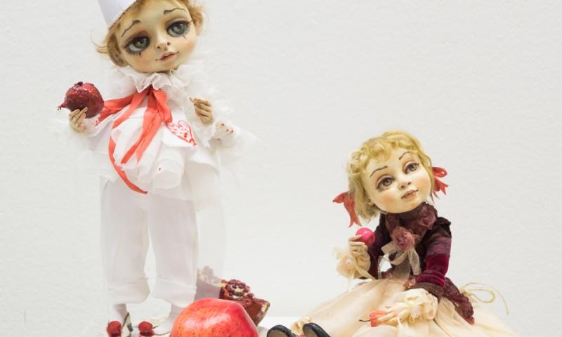 Авторские куклы — фото с выставки в Доме Художника