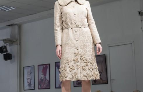 модная дубленка из коллекции Королевская зима