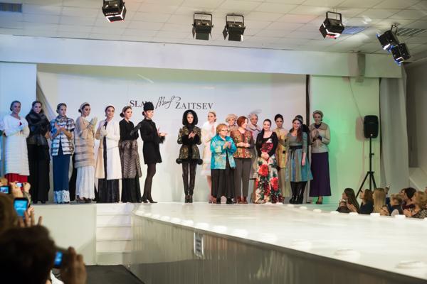 Праздник моды в театре моды Славы Зайцева