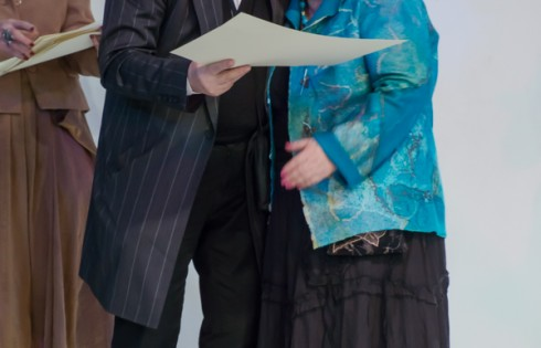 вручение дипломов в доме моды Слава Зайцев