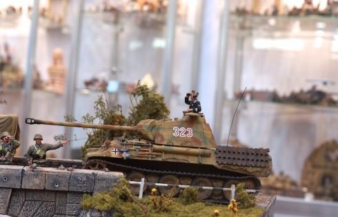 модель танка времен 2 Мировой Войны