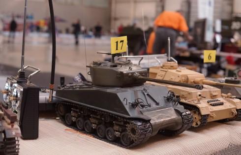 радиоуправляемая модель танка врмен Великой Отечественной Войны