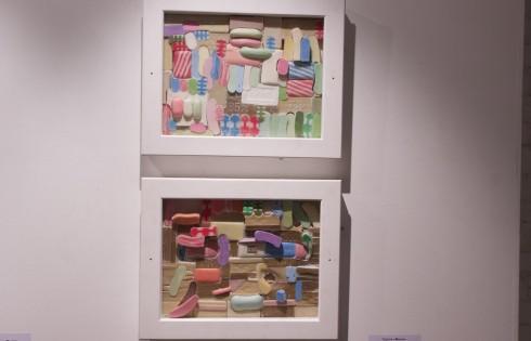 Выставка современного искусства - группа Мыло