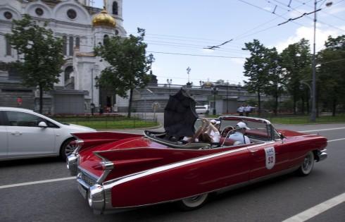 ретро машины в Москве