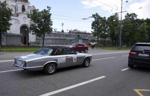 ралли ретро автомобилей