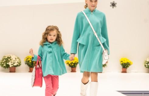 осенние пальто для девочек Vitacci