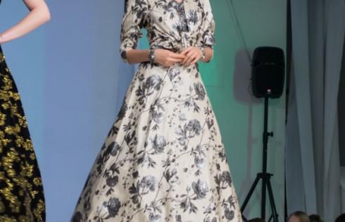 платье для праздника в русском стиле