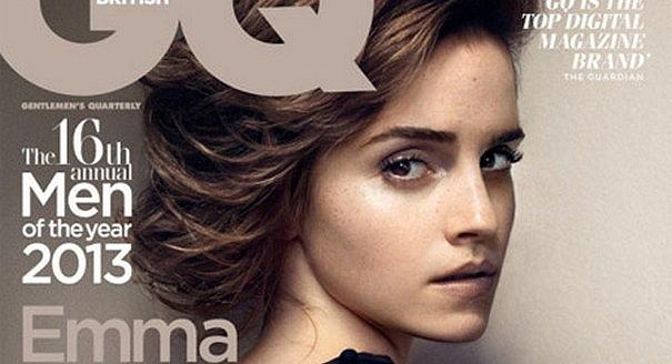 Эмма Уотсон на обложке октябрьского номера GQ