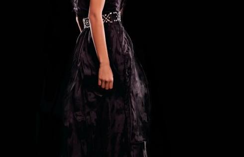 платье на выпускной 2013 с открытой спиной