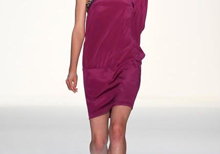 Laurel лето 2014 платье на одно плечо