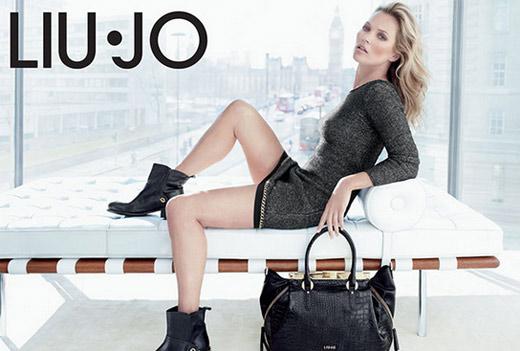Кейт Мосс презентация коллекции верхней одежды Liu Jo осень-зима 2013-2014