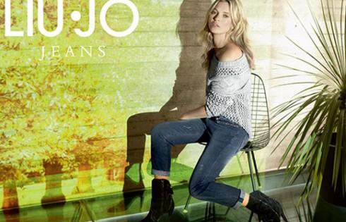 джинсы шерстяной пиджак куртка хаки с манжетами-отворотами коллекция верхней одежды Liu Jo осень-зима 2013-2014