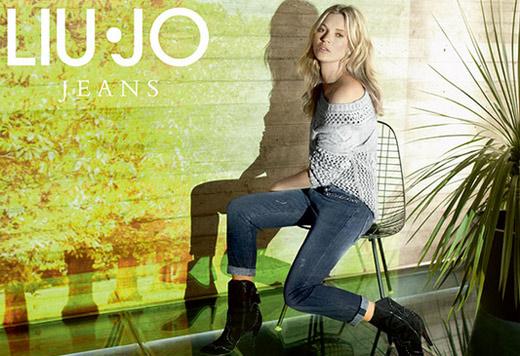 джинсы коллекция верхней одежды Liu Jo осень-зима 2013-2014