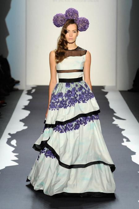 платья в пол из коллекции весна 2014