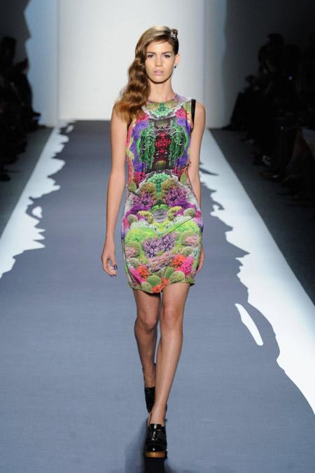 молодежное платье стиль этника весна 2014