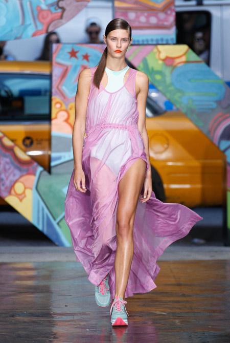 новые коллекции весна 2014 Mercedez-Benz Fashion Week