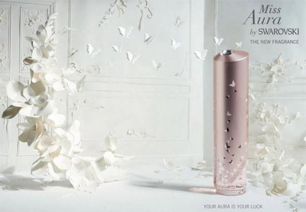 Новый аромат Miss Aura от Swarovski