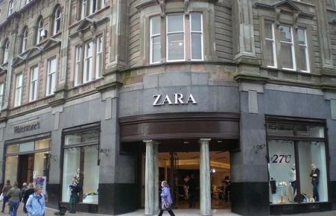 Испанский бренд ZARA в 2013 году увеличил свою прибыль