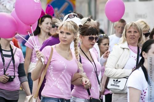 Вместе против рака – 6 благотворительный марш в Москве
