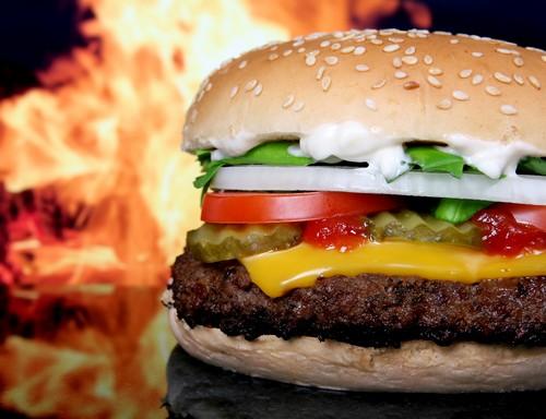 Вред гамбургеров или так ли вреден фастфуд?