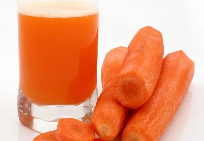 Видимая польза морковного сока