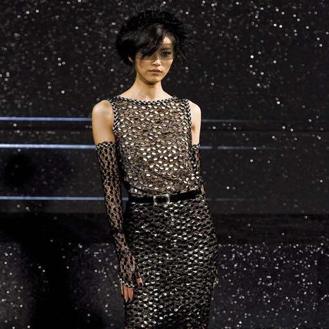 Великолепный показ коллекции Chanel осень–зима 2011-2012 в Grand Palais
