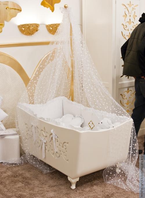 Модные кроватки для новорожденных