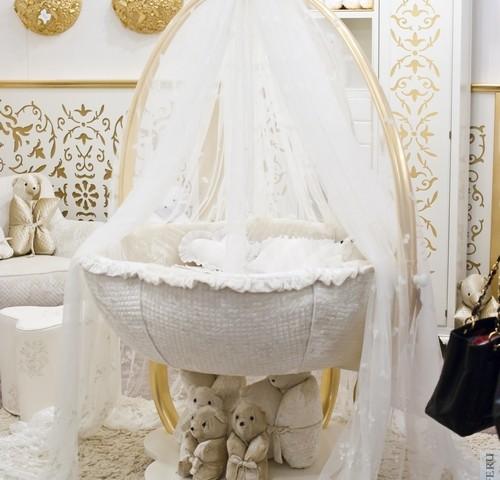 Детские итальянские кроватки – модно и удобно