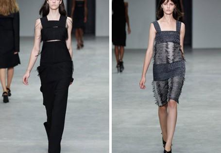 женская коллекция 2014 Calvin Klein