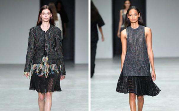 Женская коллекция одежды Весна 2014 от Calvin Klein