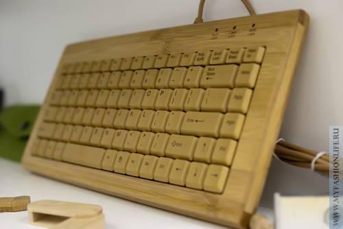 Деревянная клавиатура и другие экологичные гаджеты