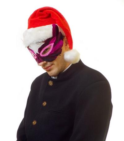 френч для новогоднего мужского костюма 2012
