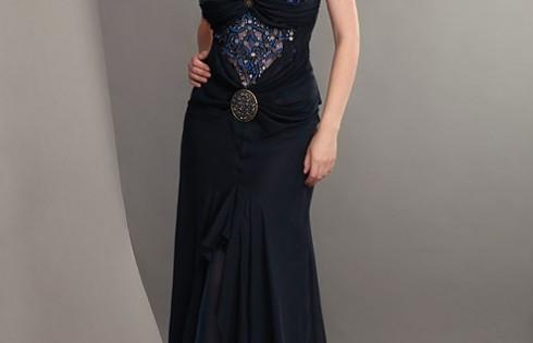 готическое выпускное платье 2013