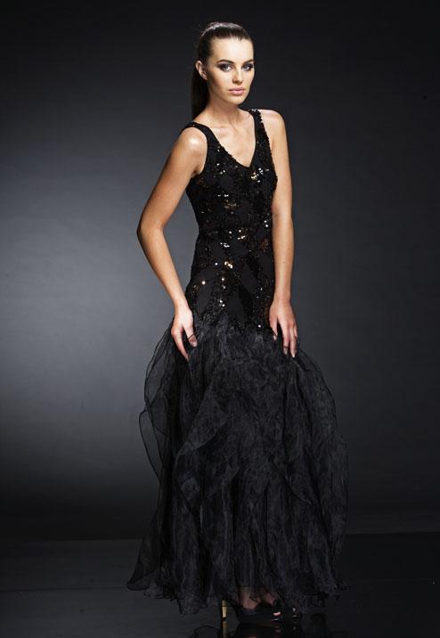 выпускное платье 2013 стиль готика