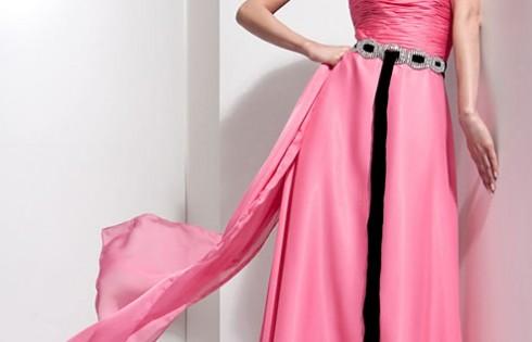 выпускное платье оттенки розового цвета