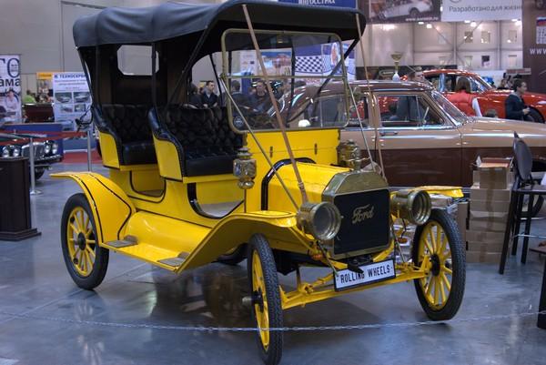 Форд Т – желтый эксклюзив