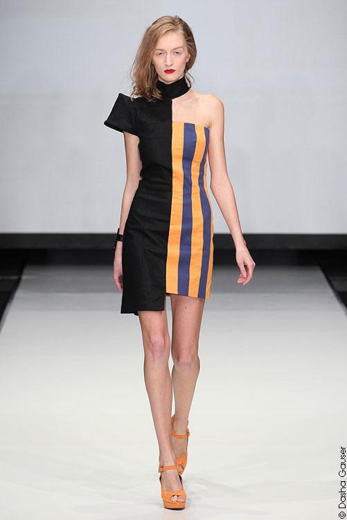 платье из коллекции Даши Гаузер Весна-Лето 2012