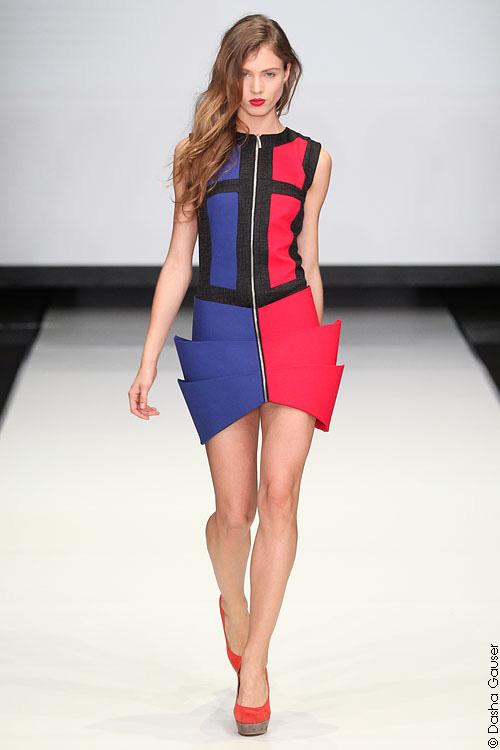 коктейльное платье из коллекции Весна-лето 2012