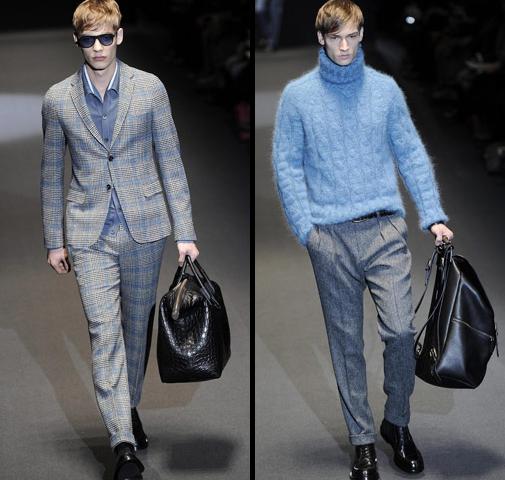 Мужская мода от Gucci осень/зима 2013